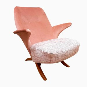 Chaise Pinguin Mid-Century par Theo Ruth pour Artifort, Pays-Bas
