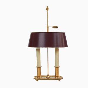 Antike Französische Bouillotte Lampe
