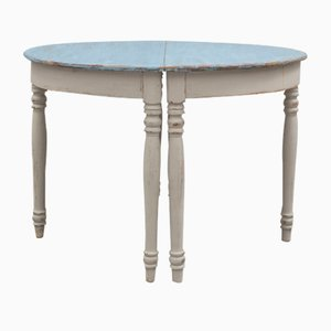 Tables Console Demi Lune, 1890s, Set de 2