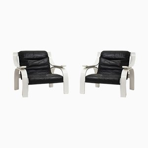 Woodline Armchair by Marco Zanuso for Arflex, 1964, Set of 2