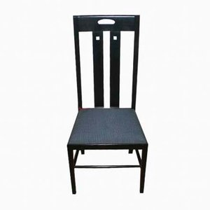 Sedia Ingram di Charles Rennier Mackintosh per Cassina, 1981