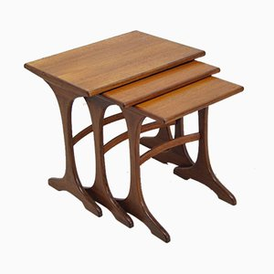 Mid-Century Teak Nesting Tables from G-Plan, 1960s