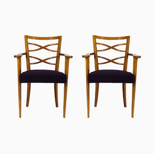 Belgian Armchairs from De Coene, 1940s, Set of 2