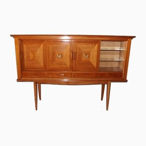 Vintage Neo-Classical Style Cherrywood Buffet by André Arbus
