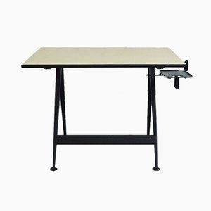 Mid-Century Reply Drawing Table by Friso Kramer for Ahrend De Cirkel