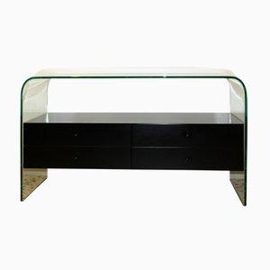 Tempered Glass Dresser from Fiam Italia, 1980s