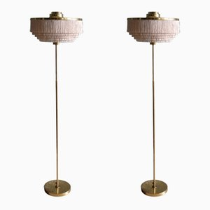 Lámparas de pie modelo G-110 de Hans-Agne Jakobsson, años 60. Juego de 2