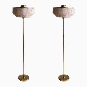 Modell G-110 Stehlampen von Hans-Agne Jakobsson, 1960er, 2er Set