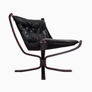 Vintage Low-Backed Falcon Chair by Sigurd Ressell for Vatne Møbler