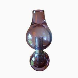 Tischlampe von Flavio Poli für Seguso, 1960er