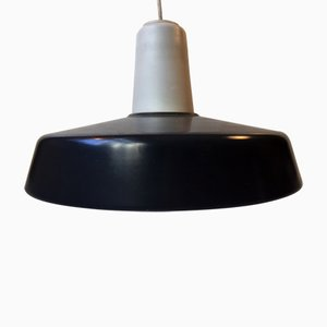 Grey & White Midtpunktspende Pendant Lamp from Louis Poulsen, 1960s