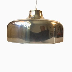 Mid-Century Swedish Brass Pendant Light, 1970s