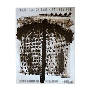 Affiche Exposition Francesc Guitart, 1986