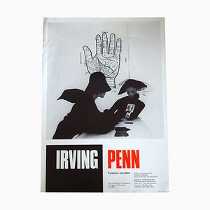 Irving Penn Exhibition Poster, 1987