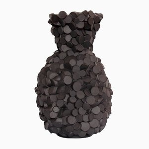 Black Money Vase von Chris Kabel