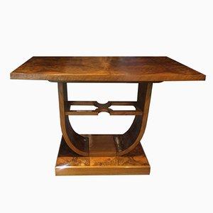 Italian Art Deco Briar Root Coffee Table, 1930s