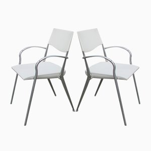Italian Folding Chairs, 1970s, Set of 2