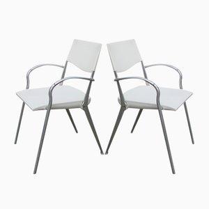 Italian Folding Chairs, 1970s, Set of 2