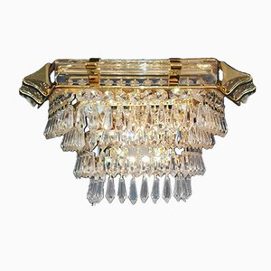 Vintage Crystal Wall Light