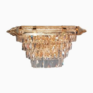 Vintage Crystal Wall Sconce
