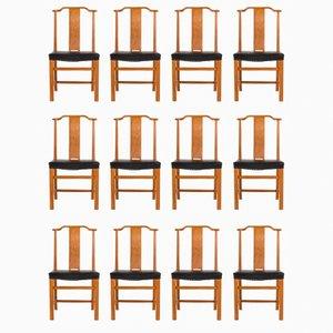 Esszimmerstühle von Axel Larsson für Bodafors, 1940er, 12er Set