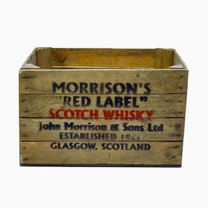 Casse da whisky vintage, Scozia, set di 10