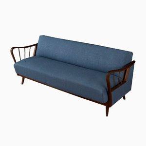 Sofá plegable vintage, años 50