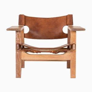 Chaise par Børge Mogensen pour Fredericia, Espagne