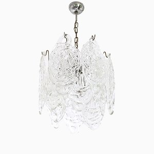 Vintage Murano Glass Ragnatela Chandelier from Mazzega