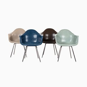DAX Dining Chairs by Charles & Ray Eames for Herman Miller, Set of 4