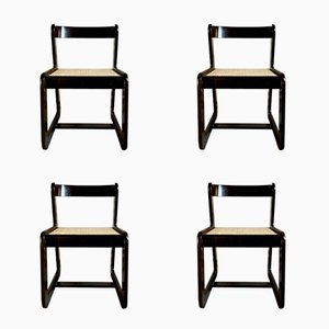 Dining Chairs by Willy Rizzo for Mario Sabot, 1974, Set of 4
