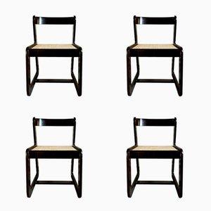 Esszimmerstühle von Willy Rizzo für Mario Sabot, 1974, 4er Set