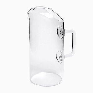 Foxy Blown Glass Carafe by Aldo Cibic for Paola C.