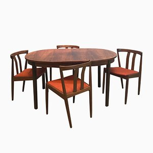 Dining Set by Niels Otto Møller for JL Møllers, 1950s