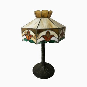 Vintage Table Lamp in Glass