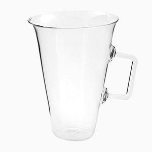 Mint Karaffe aus geblasenem Glas von Aldo Cibic für Paola C.