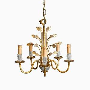 Lámpara de araña italiana vintage de Banci Firenze