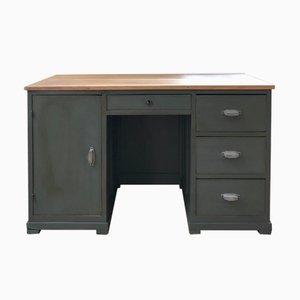 Vintage Walnut Workshop Desk