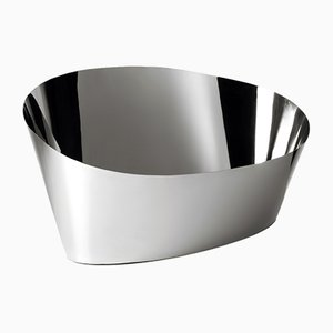 Pond Champagne Holder or Ice Bucket in Steel by Aldo Cibic for Paola C.