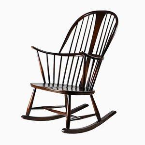 Rocking Chair Mid-Century par Lucian Ercolani pour Ercol
