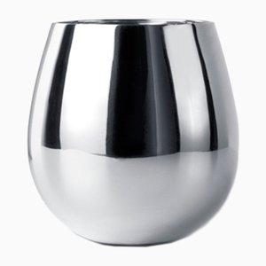 Bicchiere Tib placcato in argento di Kristina Niedderer per Paola C.