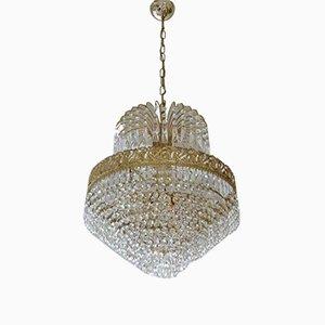 Lámpara de araña vintage de Swarovski