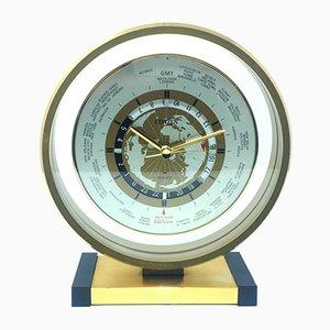 Horloge de Table en Métal de Citizen, Italie, 1950s