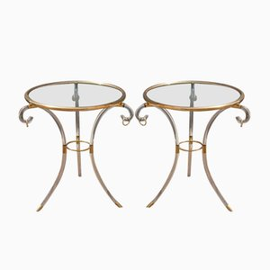 Vintage Italian Side Tables from Fabian Roma, Set of 2
