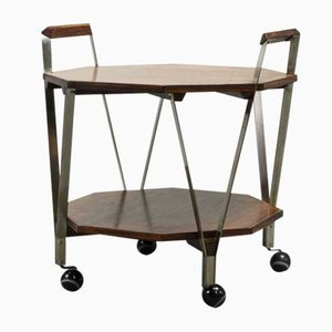 Mid-Century Octagonal Serving Trolley by Ico Parisi for Stildomus, 1959