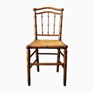 Antique Faux Bamboo Chair