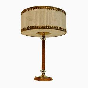 Dänische Art Deco Stil Tischlampe, 1960er