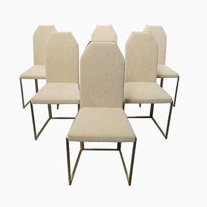 Chaises de Salle à Manger de Belgo Chrom, 1970s, Set de 6
