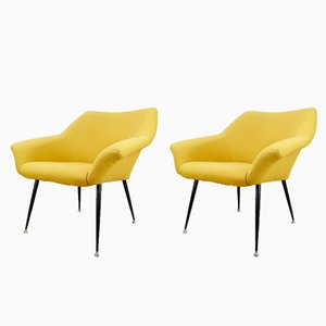 Mid-Century Polish Armchairs, 1960s, Set of 2