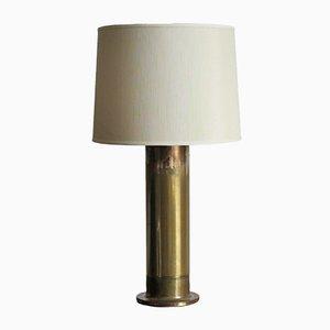 Lámpara de mesa sueca de latón de Hans Agne Jakobsson, años 60